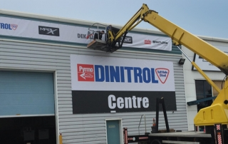 Dinitrol Centre, UK distribution hub B.I.G. Supplies Warringotn rust prevention and corrosion protection
